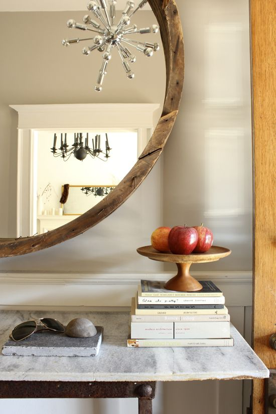 the marion house book » mirror and console table revealed