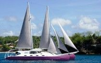 anee'cha luxury sailing catamaran, now open for daily charters explor lembongan-bali