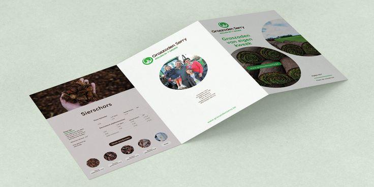 Graszoden Serry - Huisstijl realisatie - Communicatie en reclamebureau 2design Roeselare - Grafisch ontwerp, webdesign en apps - Huisstijl - visitekaartje, flyer