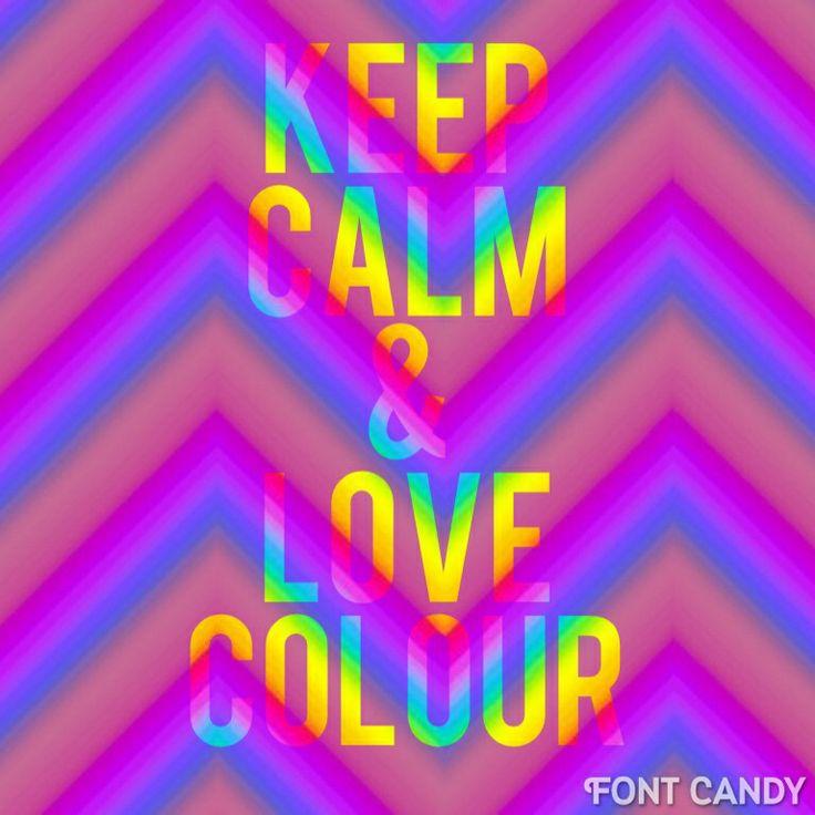 Colour well rainbows brighten up ur day