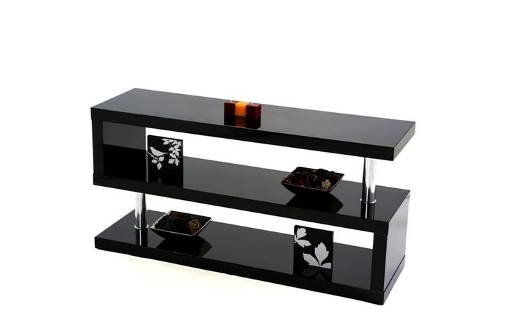 Miami Exclusive Contemporary Designer TV Stand  Beautifully crafted high gloss finish TV stand with chrome fixings. Available in different colours. Visit our store for more details   http://stores.ebay.co.uk/GoDotti-Outlet