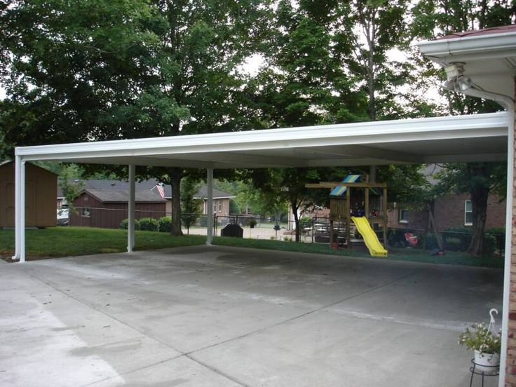91 best carport ideas images on pinterest carport ideas for Carport with attached workshop