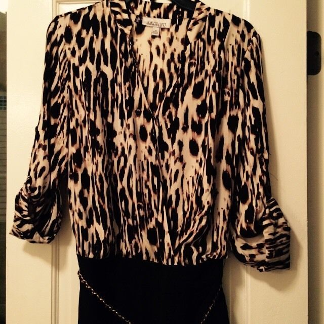 NWT Jennifer Lopez Black Animal Print Jumpsuit Romper Shorts Size 2 Retail $70 | Clothing, Shoes & Accessories, Women's Clothing, Jumpsuits & Rompers | eBay!