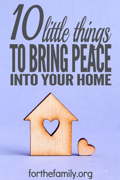 Do you tend to panic if a guest drops by unannounced for a visit? If you are worried about what other people think of you and your home you are not alone. The truth is people don't notice whether your house is clean or not. They notice the feel of your house. Is your house full of grace and joy? There's no easy formula but here are 10 simple ways to help bring peace and joy into your home.