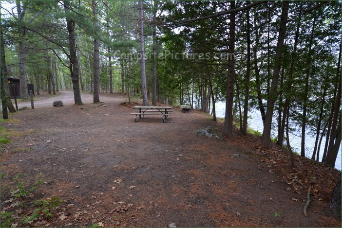 Sharbot Lake Provincial Park, Camping in Ontario Parks