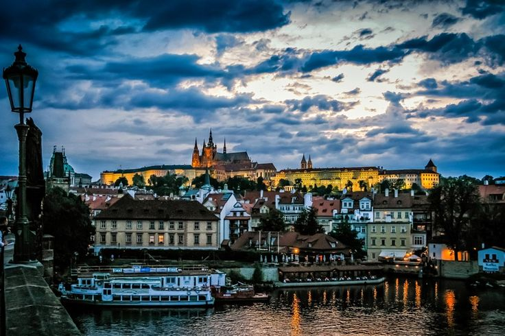 Prague Castle At Sunset by Alistair Ford on 500px