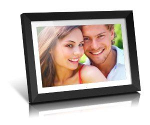 Aluratek ADMPF119 19-Inch Digital Photo Frame with 2 GB Built in Memory: Wedding anniversary gifts