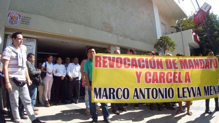 Empresarios de Chilpancingo piden cárcel para Marco Antonio Leyva