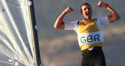 Rio 2016 sailing: emotional Briton Giles Scott wins Olympic gold in Finn class