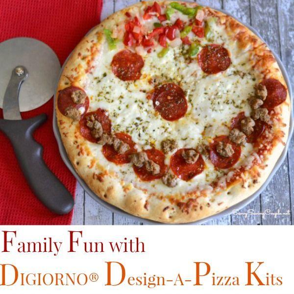 Family Fun with the DIGIORNO® Design-A-Pizza Kit #shop #cbias #DesignAPizaa #Digiorno