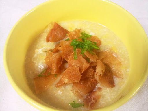 Chicken Corn Soup with Crispy Flakes | Кукурузный суп с курицей и хрустящими хлопьями (雞玉米湯)