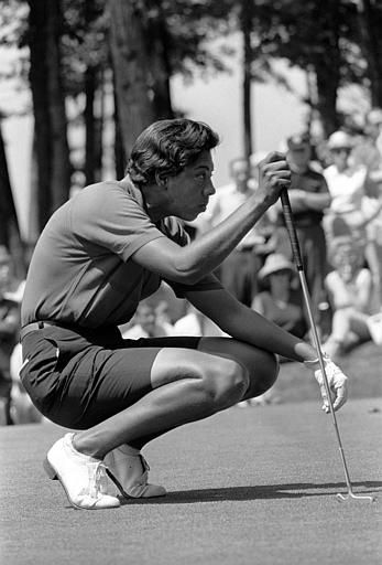 "Althea Gibson Golf Association ... The most famous female tennis-golf professional is former World #1 Althea Gibson. While playing tennis, Gibson became the first black woman to have won five ""Grand Slam"" titles. Ms. Gibson is a legend, considered by some to be a ""female Jackie Robinson"" who crossed over into golf as the first black woman to play on the LPGA Tour."