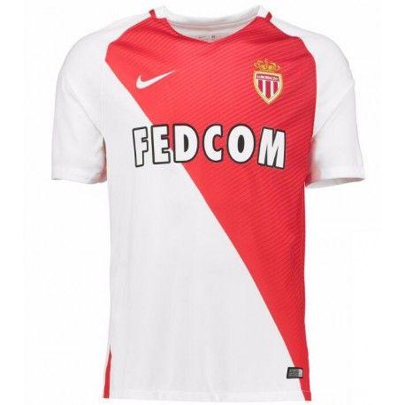Maillot AS Monaco 2016-2017 Pas Cher Domicile