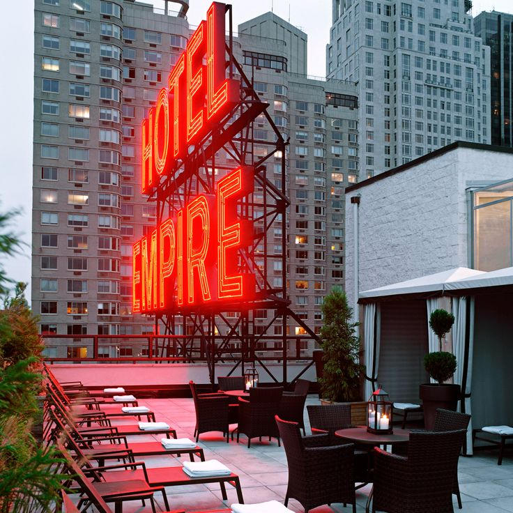 Empire Hotel—New York, New York. #Jetsetter