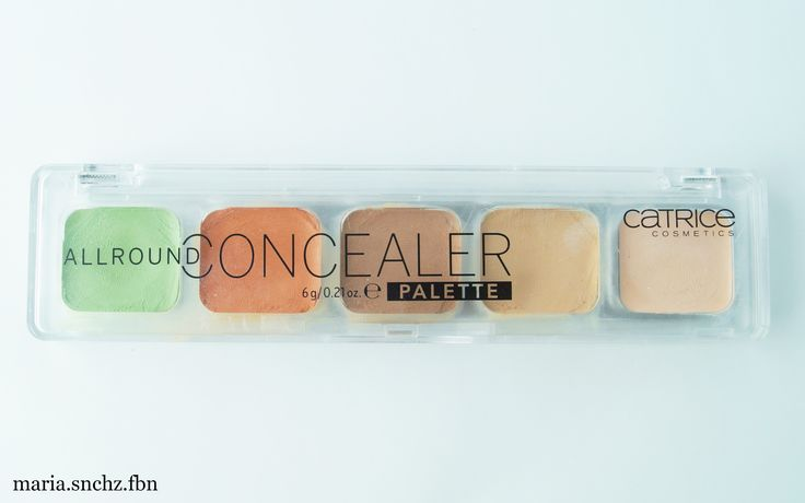Review | Palette Allround Concealer de Catrice.