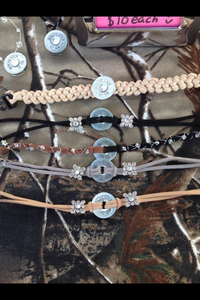 shotgun shell bracelets