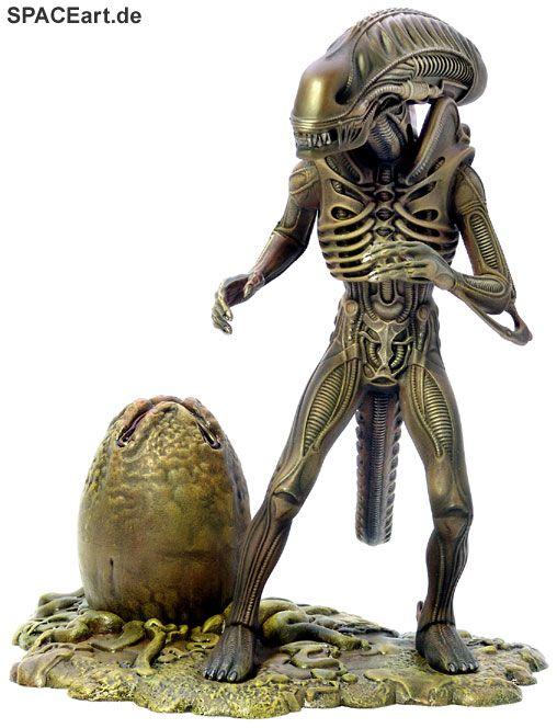 Alien 2: Alien Warrior mit Alien Ei, Modell-Bausatz ... http://spaceart.de/produkte/al099.php