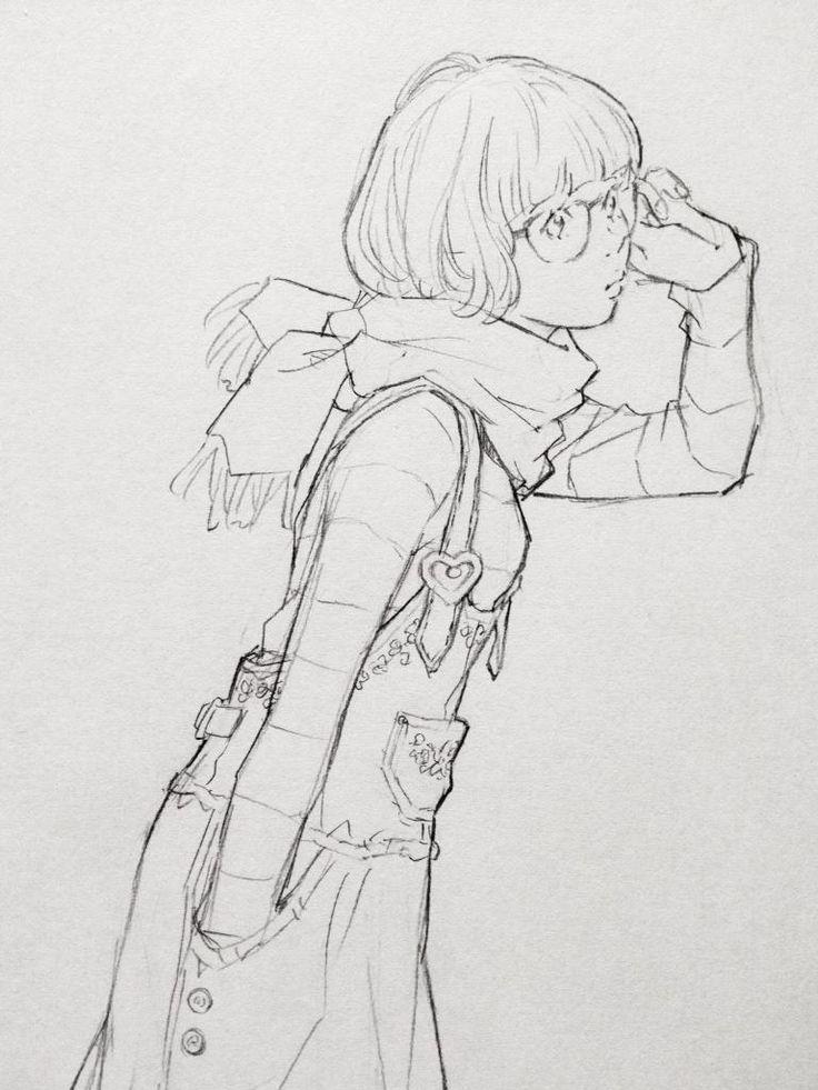 春コーデ。刺繍入りデニムワンピをデザイン。
