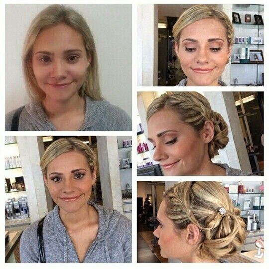 Jessica santos prom makeup