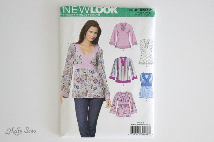 New Look 6677 - How to fit a pattern - Melly Sews