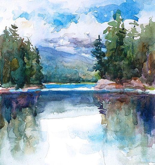 Rich Lake-Adirondacks by Sarah Yeoman                                                                                                                                                      More