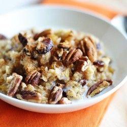 Vanilla Spice Oatmeal #healthyaperture via @Koci & @Ellie Krieger
