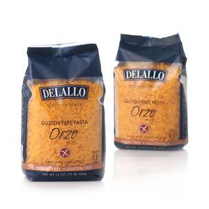 DeLallo Gluten-Free Pasta Corn/Rice Orzo | Pasta/Gluten-Free Pasta