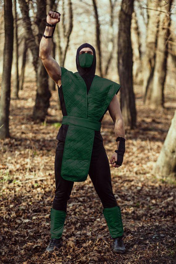Reptile cosplay costume ninja Mortal kombat by ShopCosplayCostume
