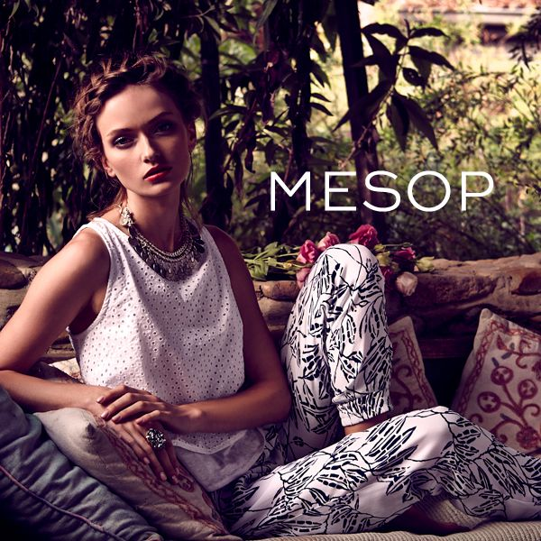 Mesop Summer collection - Available now! #mesop #summer15