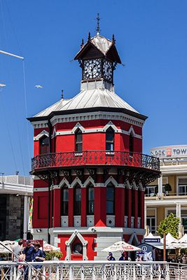 Waterfront Clocktower, Capetown, South Africa