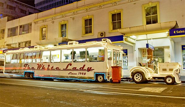 The White Lady, Auckland, NZ