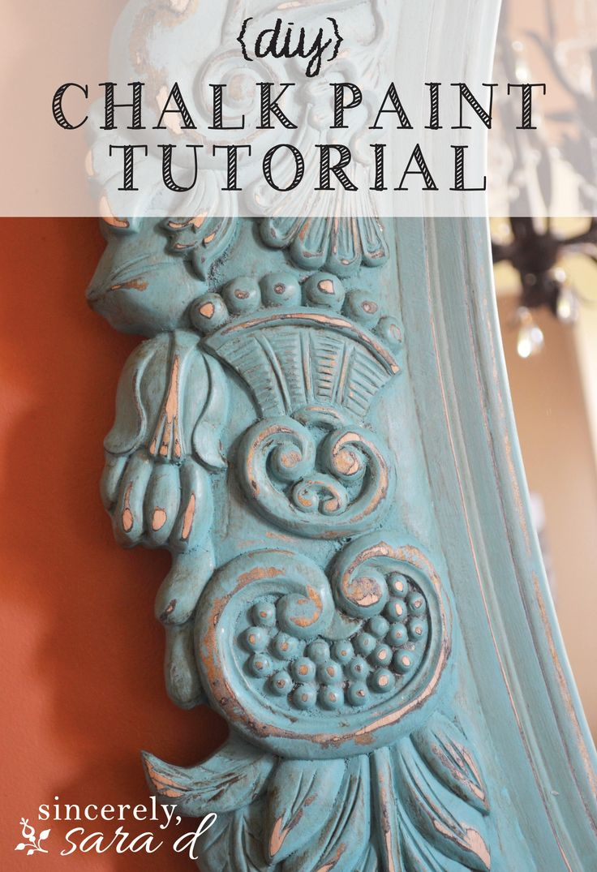 (mirror) chalk paint tutorial - sincerely, sara d.sincerely, sara d.