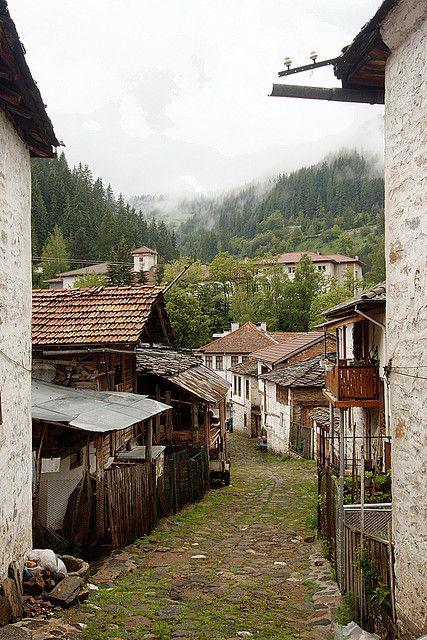 Village in the Rhodopi Mountains, Bulgaria.  Photo: bthomso, via Flickr