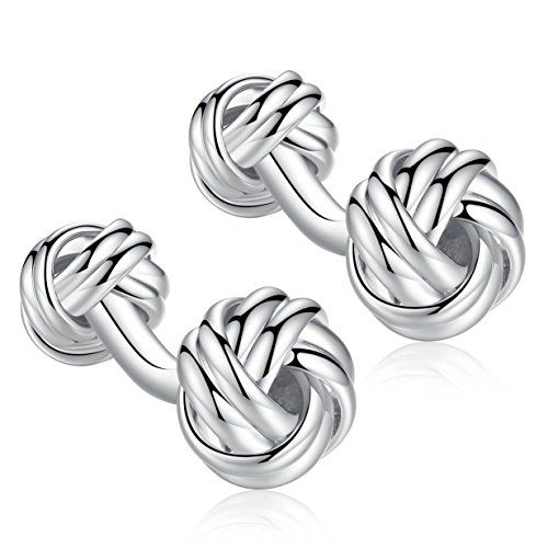 http://picxania.com/wp-content/uploads/2017/10/honey-bear-twist-knot-cufflinks-stainless-steel-for-mens-shirt-wedding-business-gift-silver-with-round-foot.jpg - http://picxania.com/honey-bear-twist-knot-cufflinks-stainless-steel-for-mens-shirt-wedding-business-gift-silver-with-round-foot/ - Honey Bear Twist Knot Cufflinks - Stainless Steel For Men's Shirt Wedding Business Gift (Silver with round foot) -   Price:    Cufflinks are a great way to add a personal touch to a suit o