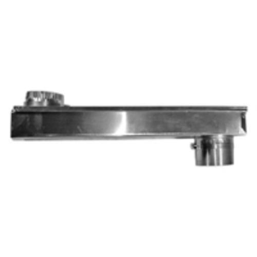 """Builders Plumbing Supply 110172 Adjustable Periscope Dryer Vent 2""""X6"""""""
