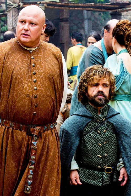 Tyrion Lannister and Lord Varys in 'No-One' GOT S6 Ep8