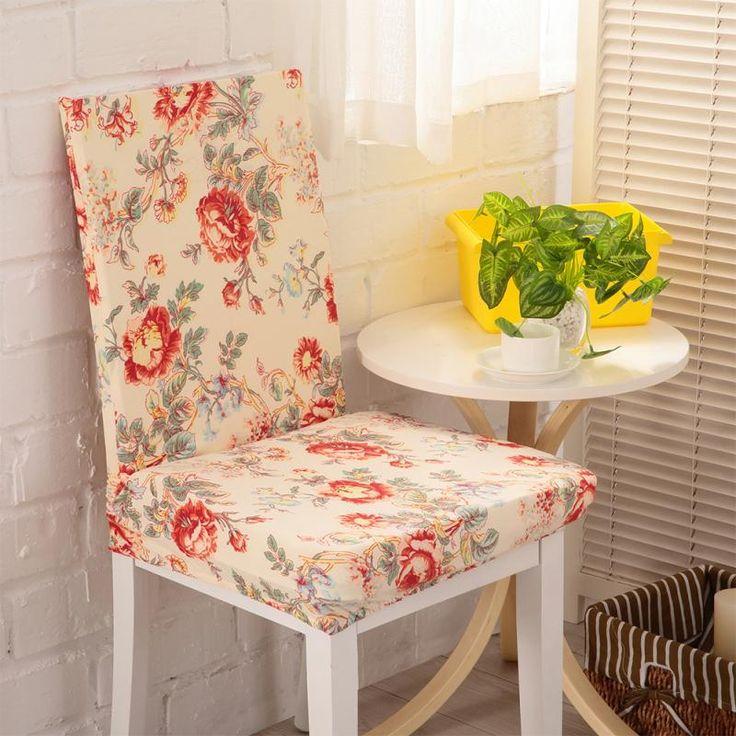 25 best ideas about fundas para sillas de comedor en - Tela para sillas ...