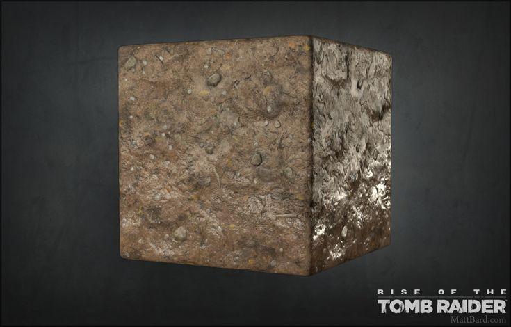 ArtStation - Rise of the Tomb Raider - Materials, Matt Bard
