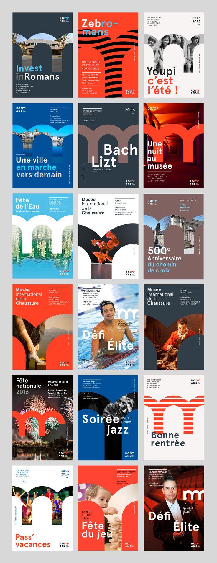 Romans-Sur-Isère - Brand Design on Behance