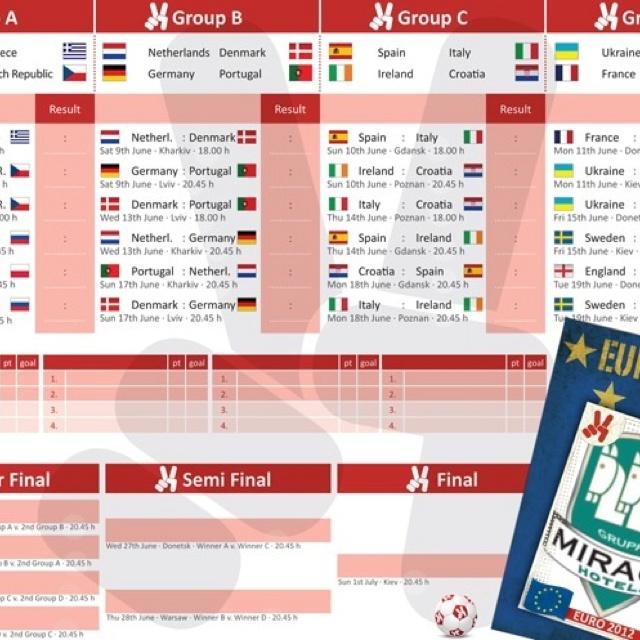 European soccer 2012 www.residencedesenzano.it in Milan Italy