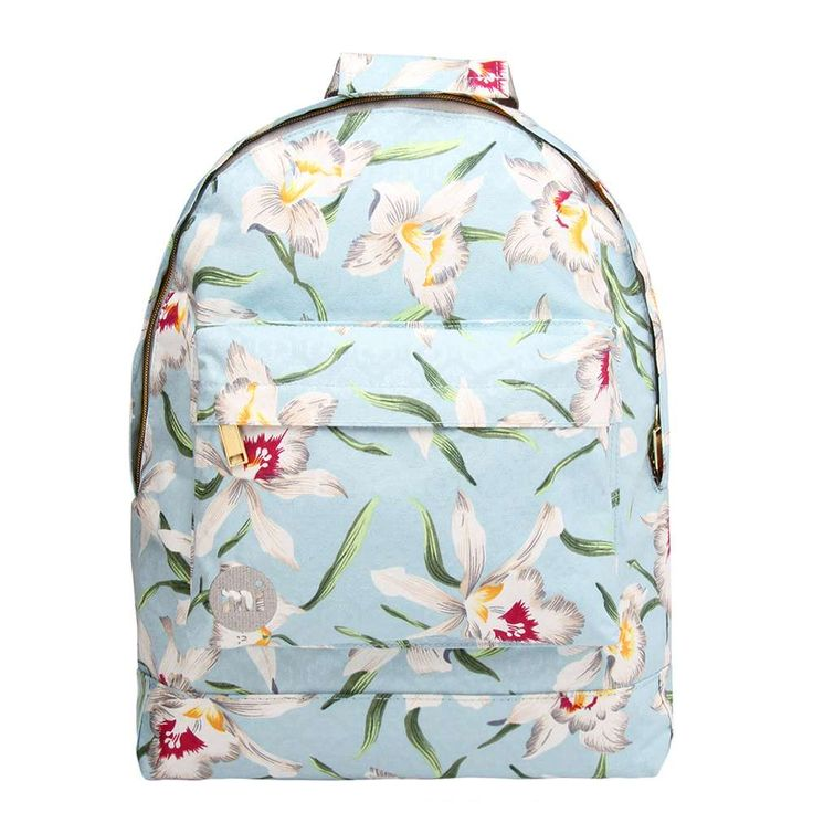 Mi-Pac Gold Orchid Backpack pale blue