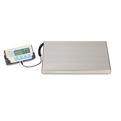Salter Brecknell LPS400 LPS400 Portable Shipping Scale, 400 lb Capacity, 12w x 15d Platform by Salter Brecknell. $150.95. Portable shipping scale is well-suited for shipping or warehouse applications and general-purpose weighing with computer interface. The scale accurately weighs up to 400 lb. and is compatible with UPS Shipping software. The dual power modes enable portability or permanent installation. Scale includes an AC adapter and four AAA batteries. A large, easy...