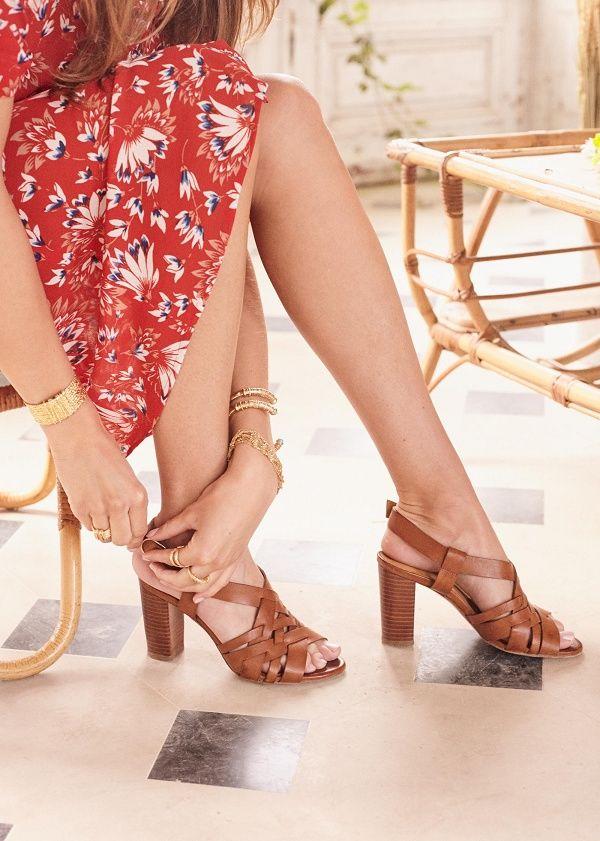 fdc4607c1e28ca Sézane - Sandales High Estelle | chaussures | Sezane sandales ...