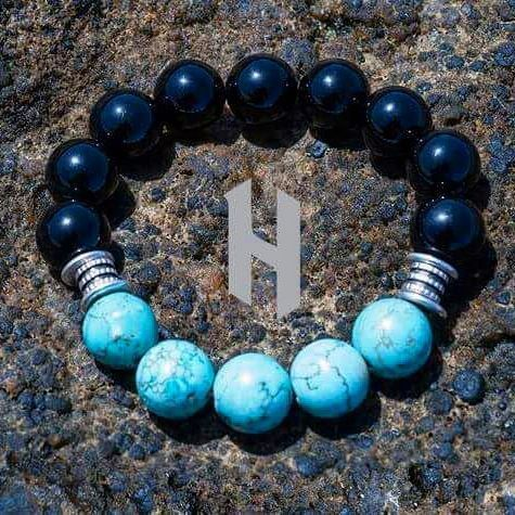 Our new black and TURQUIOSE bead bracelet considered good protection and emit calmness and wisdom for you. Available now at @heposmode check the bio! #be_epic #hepos #handmade #mensbracelets#mensjewelry #mensaccessories #king#queen#lux #mensbracelet #Luxury#Jewelry #womensjewelry#womensaccesories #womensbracelet#photooftheday #lether #fashion#bracelet #model #accessories#style#picoftheday