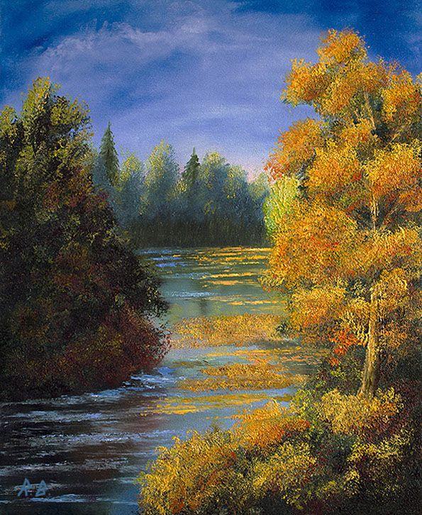 Høstelv/Autumn river
