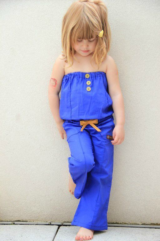 Love rompers on little girls. Except for having to use the bathroom or change a diaper!