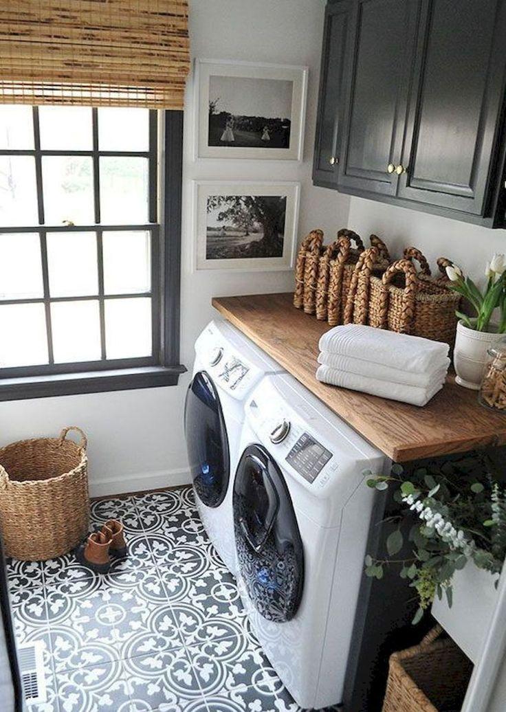 Rustic Laundry Room Decor Ideas (51)