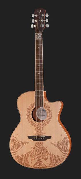 Luna Guitars Henna Sahara - Thomann France
