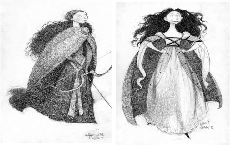Disney Concept Art - Merida