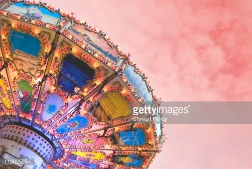 Fairground carnival attraction and ride.